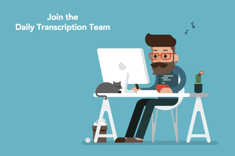 interested in a transcription career