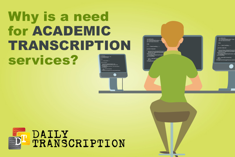 academic transcription