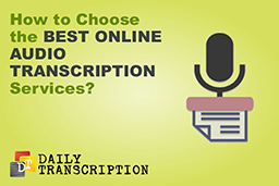 Online Audio Transcription