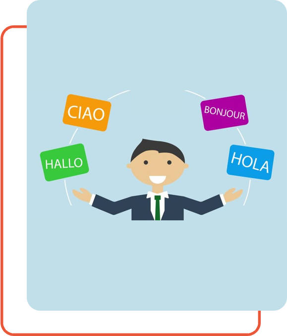 Multilanguage Transcription