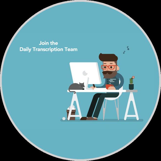 transcription career